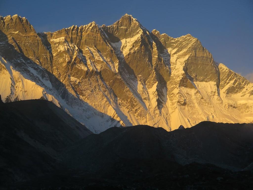 Południowa ściana Lhotse