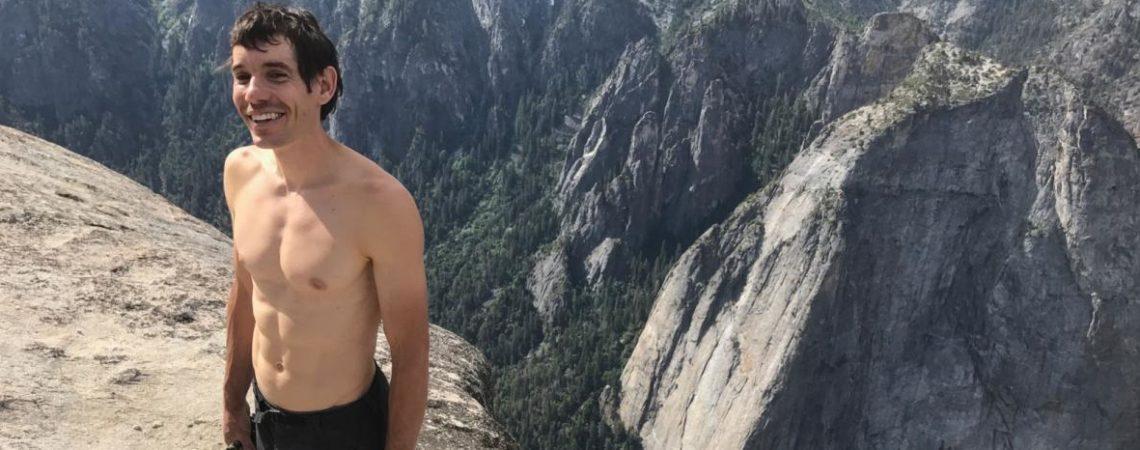 To nie mogło umknąć naszej uwadze. Alex Honnold w stylu free solo na El Capitan!
