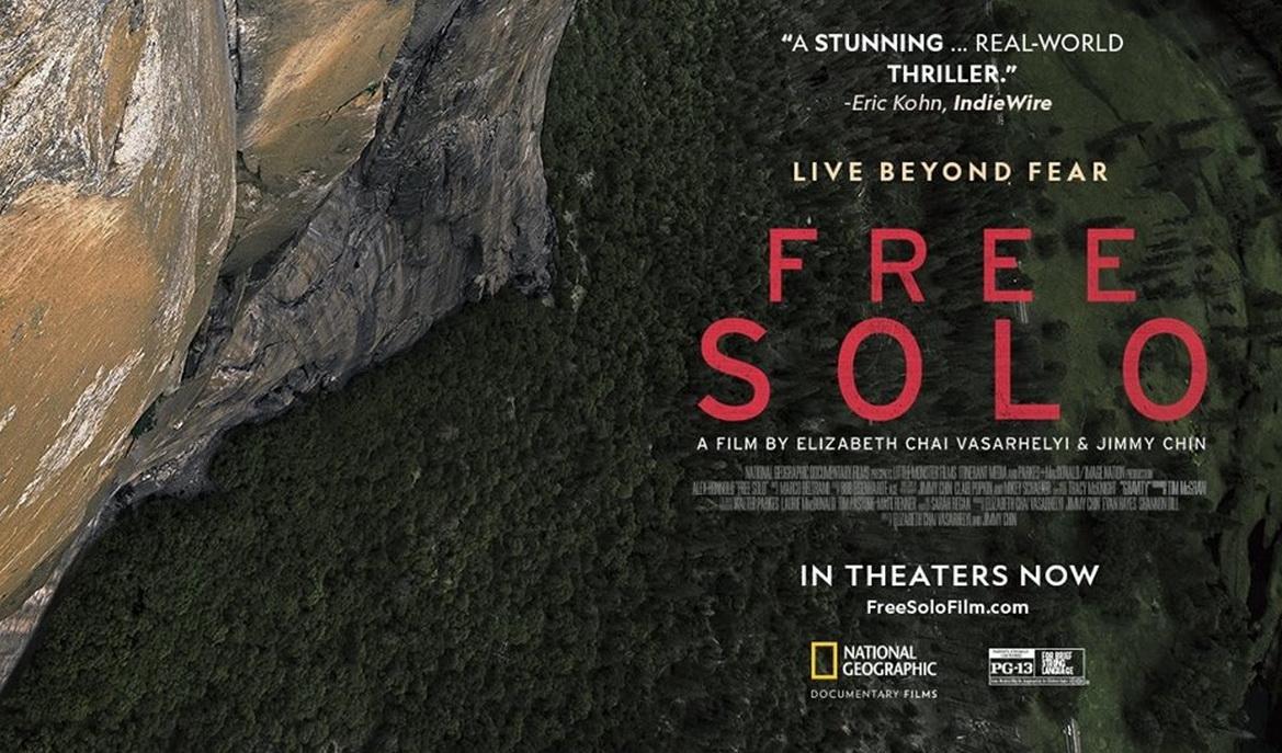 """Pokazy kinowe filmu """"Free Solo"""""""