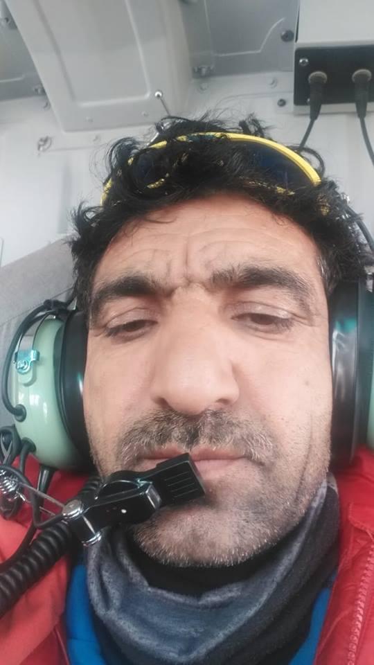Ali Sadpara, źr. FB Philippe Poulet